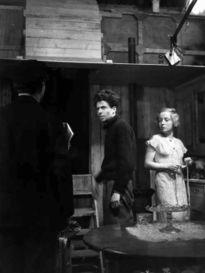 JEAN VIGO sur le tournage de L'Atalante (1934)