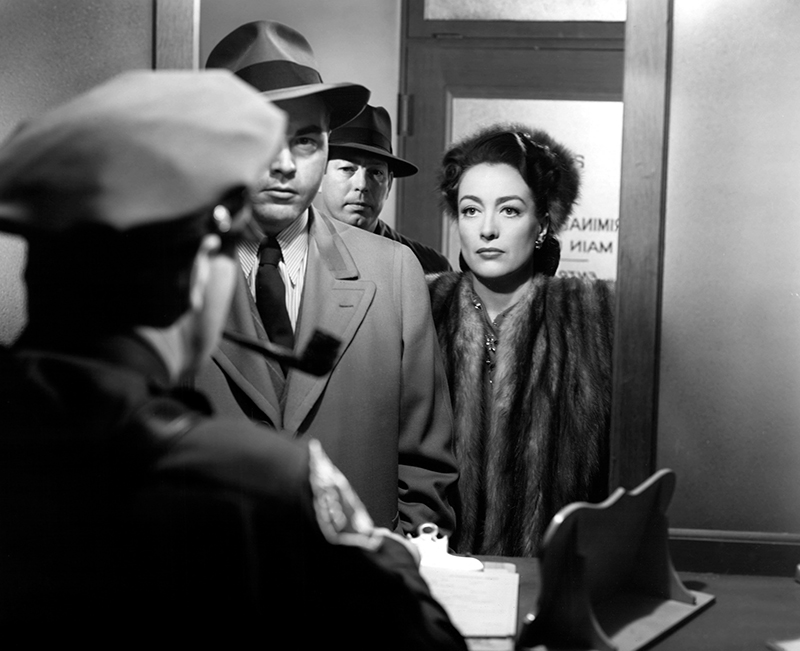 MILDRED PIERCE, James Flavin, Don O'Connor, Joan Crawford, 1945