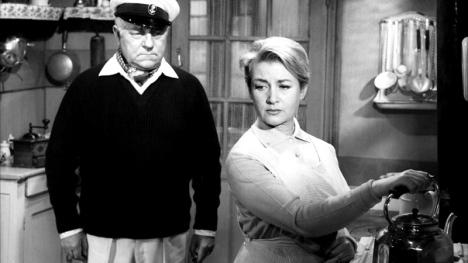 Jean Gabin et Blanchette Brunoy dans LE BARON DE L'ECLUSE de Jean Delannoy (1960)