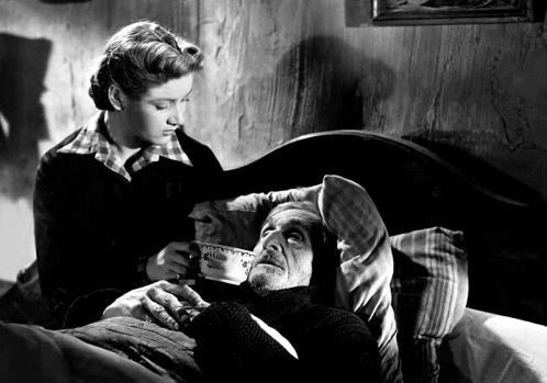 Blanchette Brunoy et Guy Favières dans GOUPI-MAINS ROUGE de Jacques Becker (1943)