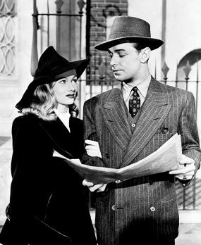 THE GLASS KEY (La Clé de verre) - Stuart Heisler (1942) avec Alan Ladd, Veronica Lake, Brian Donlevy