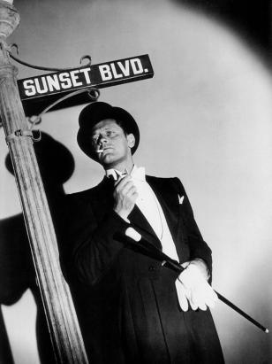 SUNSET BOULEVARD (Boulevard du crépuscule) - Billy Wilder (1950) avec William Holden