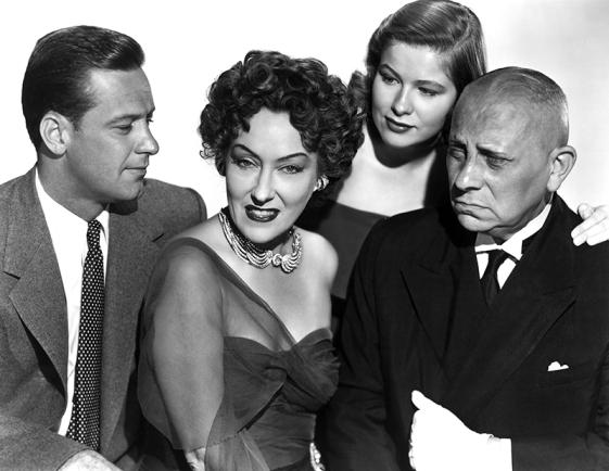 SUNSET BOULEVARD (Boulevard du crépuscule) - Billy Wilder (1950) avec William Holden, Gloria Swanson, Erich von Stroheim, Nancy Olson