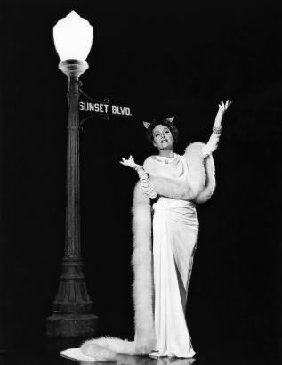 SUNSET BOULEVARD (Boulevard du crépuscule) - Billy Wilder (1950) avec Gloria Swanson