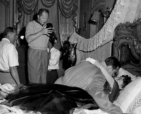 ON SET - SUNSET BOULEVARD (Boulevard du crépuscule) - Billy Wilder (1950)