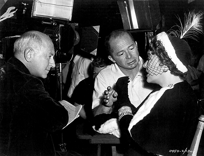 ON SET - SUNSET BOULEVARD (Boulevard du crépuscule) - Billy Wilder (1950)