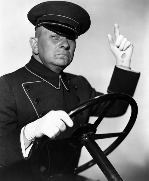 SUNSET BOULEVARD (Boulevard du crépuscule) - Billy Wilder (1950) avec Erich von Stroheim