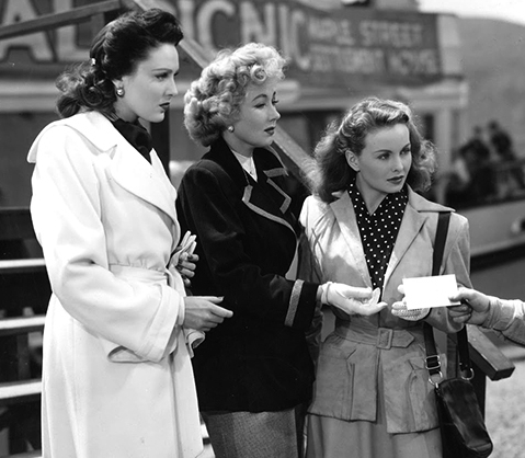 A LETTER TO THREE WIVES (Chaînes conjugales) – Joseph L. Mankiewicz (1949)