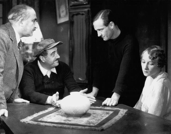 Fernand Charpin, Raimu, Pierre Fresnay, Orane Demazis
